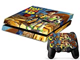 PS4 Sticker Toy Story 3D Skin for Sony PlayStation 4 System