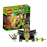 Lego Year 2012 Ninjago Series Battle Scene Set #9440 Venomari Shrine With 2 Mini Snakes, Toxic Slime, Golden Staff...