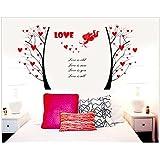 Decals Arts Love Cupid's Arrow Wall Sticker For Sofa TV Décor