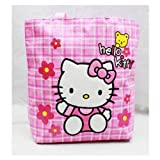 Sanrio Hello Kitty Pink Tote Bag With Yellow Bear