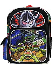 Full Size Black And Red Teenage Mutant Ninja Turtles Kids Backpack