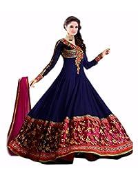 London Beauty Blue Floor Length Salwar Suit