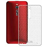 Exclusive Dotted Ultra Grip Soft Silicone TPU Jelly Transparent Case Soft Back Case Cover For Asus Zenfone 2 ZE551ML