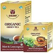 Mint & Lemongrass Organic Green Tea 25 Tea Bags