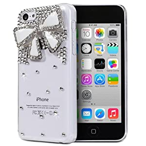 iphone 5c clear cases with designs fosmon gem series 3d bling design for 19312