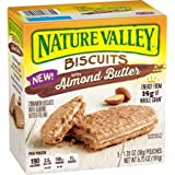 Nature Valley Biscuits With Almond Butter, 5 Ct (Pack Of 4)