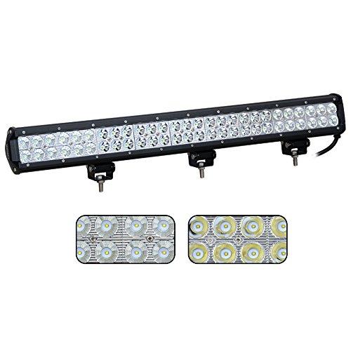 Nilight 25″ 162W Led Light Bar Flood Spot Combo Waterproof Driving Lights Off Road Lights for SUV UTE Truck ATV UTV ,2 Years Warranty