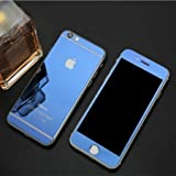 Apple Iphone 5/5s Blue Color Tempered Glass Front And Back By Mobbysol