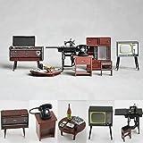 Miniature 1:24 Vintage Japanese Japan Furniture Dollhouse Miniature Fridge Magnet Figure Toy