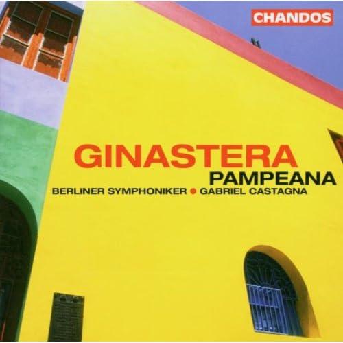 Ginastera: Pampeana no3, etc Audio CD