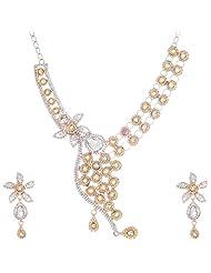 Nimble Golden Metal Choker Necklace For Women - B00XVML0OE