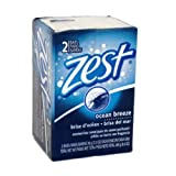 Zest Soap Ocean Breeze Scent Made In USA 3.2 Oz (2 Pack) ... Amtc