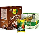 Apsara Combo Chocolate Tea 250gm, Green Tea 100gm & Lemon Ice Tea
