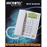 Microtel MCT-839CID Caller Id Corded Telephone For Office Home & All Purpose Use