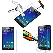Acm Tempered Glass Screenguard For Lenovo S850 Mobile Screen Guard Scratch Protector