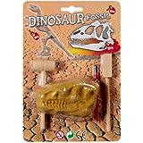 Dinosaur T-rex Shaped Head Fossil Dig Set