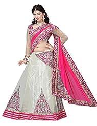 Asha Fashion Net Lehenga Saree
