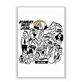 PosterGuy Bombay Meri Jaan Comic Art Quirky Illustration Poster