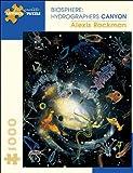 Alexis Rockman 1000 Piece Puzzle Biosphere: Hydrographers Canyon