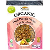 New England Naturals Organic High Protein Ginger Granola Clusters, 10 Ounce