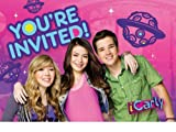 iCarly Invitations 8 Pack