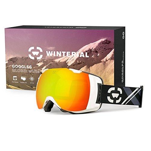 Winterial Globe Ski / Snowboard / Snowmobile Goggles All Mou