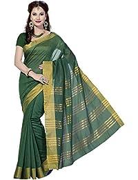 Rani Saahiba Art Cotton Silk Saree (Green_SKR1064)