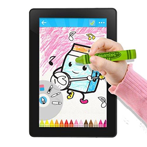 Best Stylus for Kids - Fun Crayon Stylus Pen. Green Kids ...