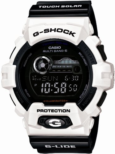CASIO G-SHOCK G-LIDE G-LIDE Tough Solar Radio Controlled MULTIBAND 6 GWX-8900B-7JF (Japan Import)