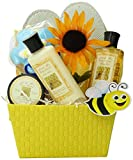 Art of Appreciation Gift Baskets Queen Bee Spa Bath and Body Gift Set