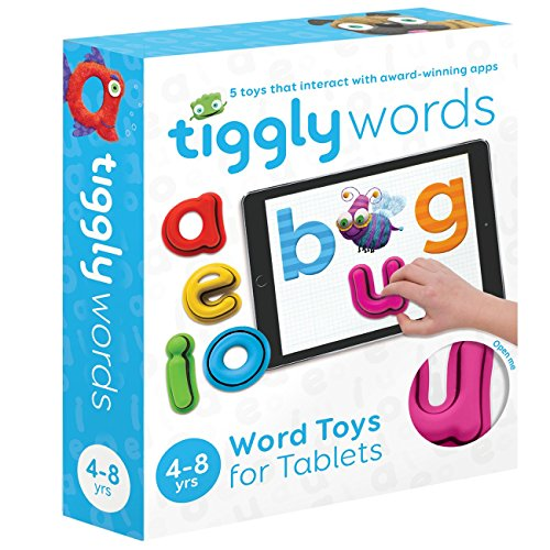 Tiggly Words Interactive Learning Toy for Kids 4-8 Baby ...