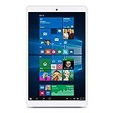 "Teclast X80 Plus - 32GB Tablet PC de 8.0"" (Windows 10 & Android 5.1, Quad Core, 1.44GHz, Resolución 1280 x 800, Batería de 3800mAh, OTG), Color blanco"