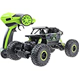 Three King 1/18th 2.4 Ghz Electric Remote Control Cars Buggy Model Cars 4x4 Rc Rock Off Road Vehicle Toy 4 Wd...