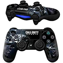 Elton PS4 Controller Designer 3M Skin For Sony PlayStation 4 DualShock Wireless Controllers (set Of Two Controllers Skin) - Call Of Duty Ghosts
