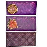 Odishabazaar Envelope With Rose Printed 3-D Set Pack Of 1pc