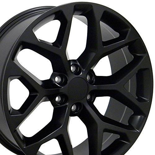 20×9 Wheel Fits GMC Truck – Sierra Style Matte Black Rim