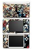 Avengers Hulk Spider-Man Captain America Iron Thor Thanos Video Game Vinyl Decal Skin Sticker Cover for Nintendo DSi XL System