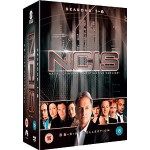Bei amazon.co.uk: NCIS Komplettbox (Staffeln 1-6) [DVD] für nur 69,30 € inkl. VSK!