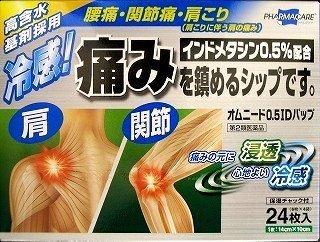 【第2類医薬品】オムニード0.5IDパップ 24枚