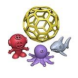 BeginAgain Bathtub Ball-Eco Friendly Rubber Bathtub Toy