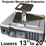 Projector-Gear Projector Ceiling Mount For NEC VE281 NP-VE281 With Extension Lowers 13 To 20