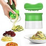 eLander Spiralschneider Set, Gemüsespaghetti Kartoffel-, Zucchini-, Spargelschäler, Gurkenschneider, e Gemüse Spiralschneider