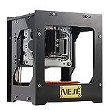 NEJE DK-8-KZ 1000mW レーザーDIY彫刻機 USB彫刻機 彫刻機 小型 軽量 USB対応 1000mW オフライン操作可能 保護メガネ付き(DK-8-KZ)