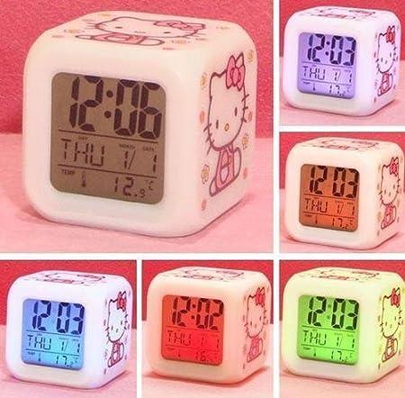 Amazon: Hello Kitty Alarm Cloc...