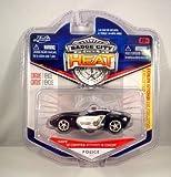 Jada Badge City Heat Highway Patrol '09 Corvette Stingray Concept Black/White #009 by Jada