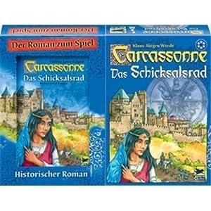 Carcassonne, Schicksalsrad inklusive Buch für 10,65 €