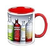 HomeSoGood Best Imported Drinks White Ceramic Coffee Mug - 325 Ml