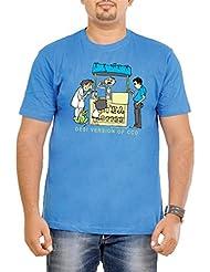 Stallion Cottons Men's Round Neck Cotton T-Shirt - B00ZIHN4US
