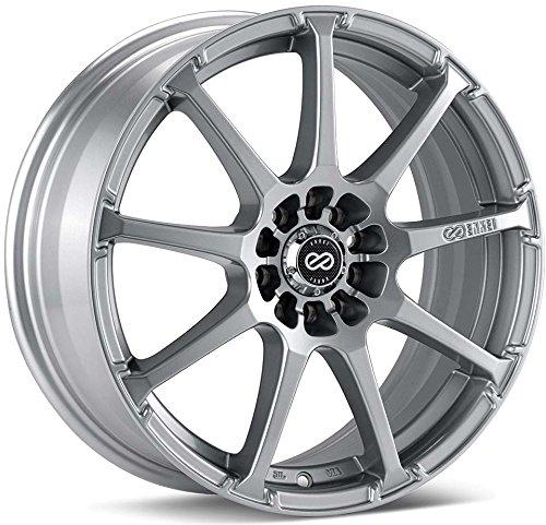 16×7 Enkei EDR9 (Silver) Wheels/Rims 5×100/114.3 (441-670-0245SP)