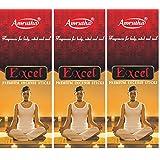 Amrutha Aromatics Excel Incense Sticks 100G (Pack Of 3)